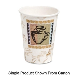 8 oz  Dixie Perfect Touch Hot Cups / 50 count
